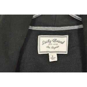 Lucky Brand Jackets & Coats - Lucky Brand jacket SZ L black long sleeve hi lo po